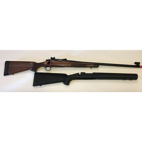 KJW M700 Remington a gas/co2  full metal con calcio originale Remington BDL