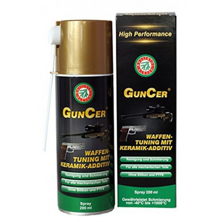 BALLISTOL GunCer Spray 200 ml | Olio per Armi con additivi di nano-Ceramica