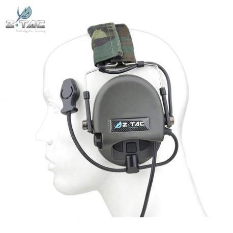 Tier 1 Headset Military Standard Plug Z-Tactical